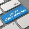 Pay for higher education button