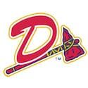 Danville Braves baseball logo